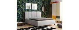 Łóżko tapicerowane Tym I